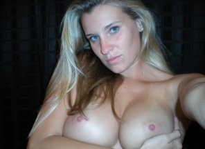 amateur photo Beautiful girl with beautiful tits