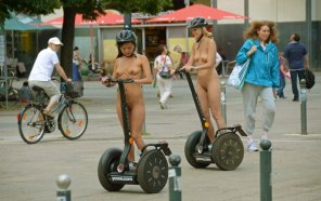amateur photo Segways