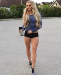 amateur photo The Tight Shorts of Anna Nystrom