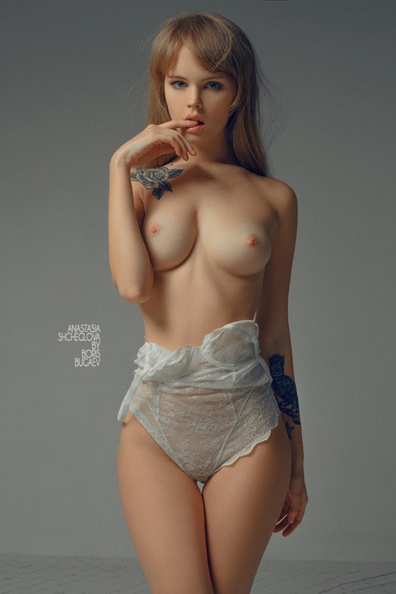 Naked anastasia shcheglova Anastasia