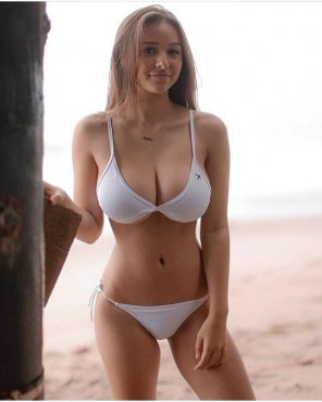 amateur photo White Bikini