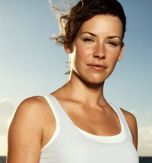 amateur photo Evangeline Lilly - Kate / Freckles from LOST
