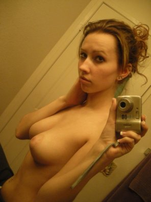 amateur photo Topless cutie
