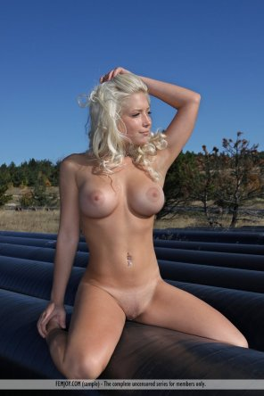 amateur photo Blonde Marylin