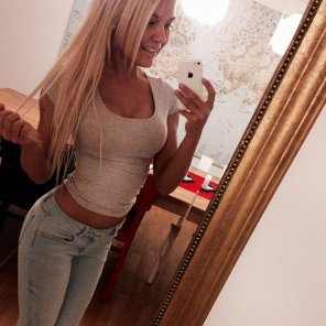 amateur photo Pretty young blonde