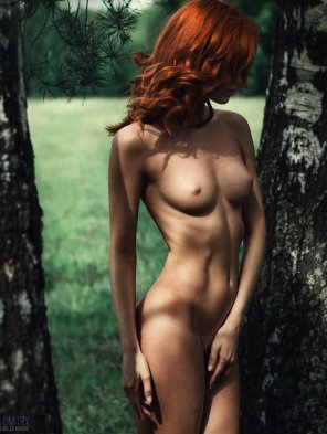amateur photo Nude in nature