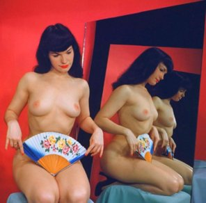 amateur photo Bettie Page