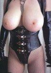 amateur photo Black leather