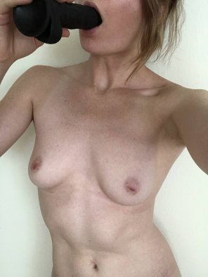 amateur photo Sometimes you just need a cock in your mouth [F]