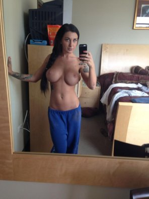 amateur photo Blue sweats