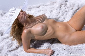 amateur photo Playboy Playmate Elizabeth Ostrander