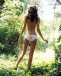 amateur photo Enjoying a nature walk in her cute panties