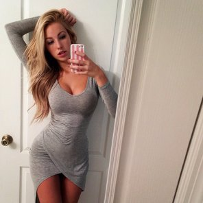 amateur photo Love that dress