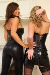 amateur photo Stacey Poole and Jodie Gasson ready to have fun