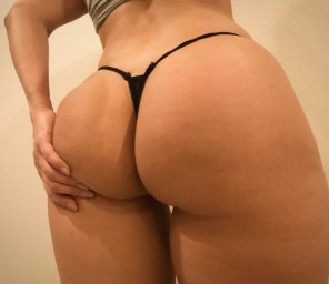 amateur photo Tiny Thong goofin...