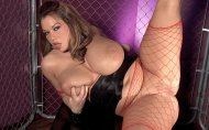 Victoria Lane spreading her legs