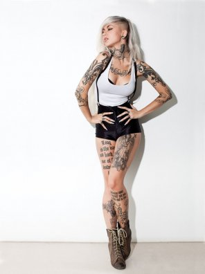 amateur photo Sara Fabel is a Finnish model