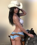 amateur photo Holstered hottie