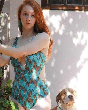 amateur photo Woman's Best Friend