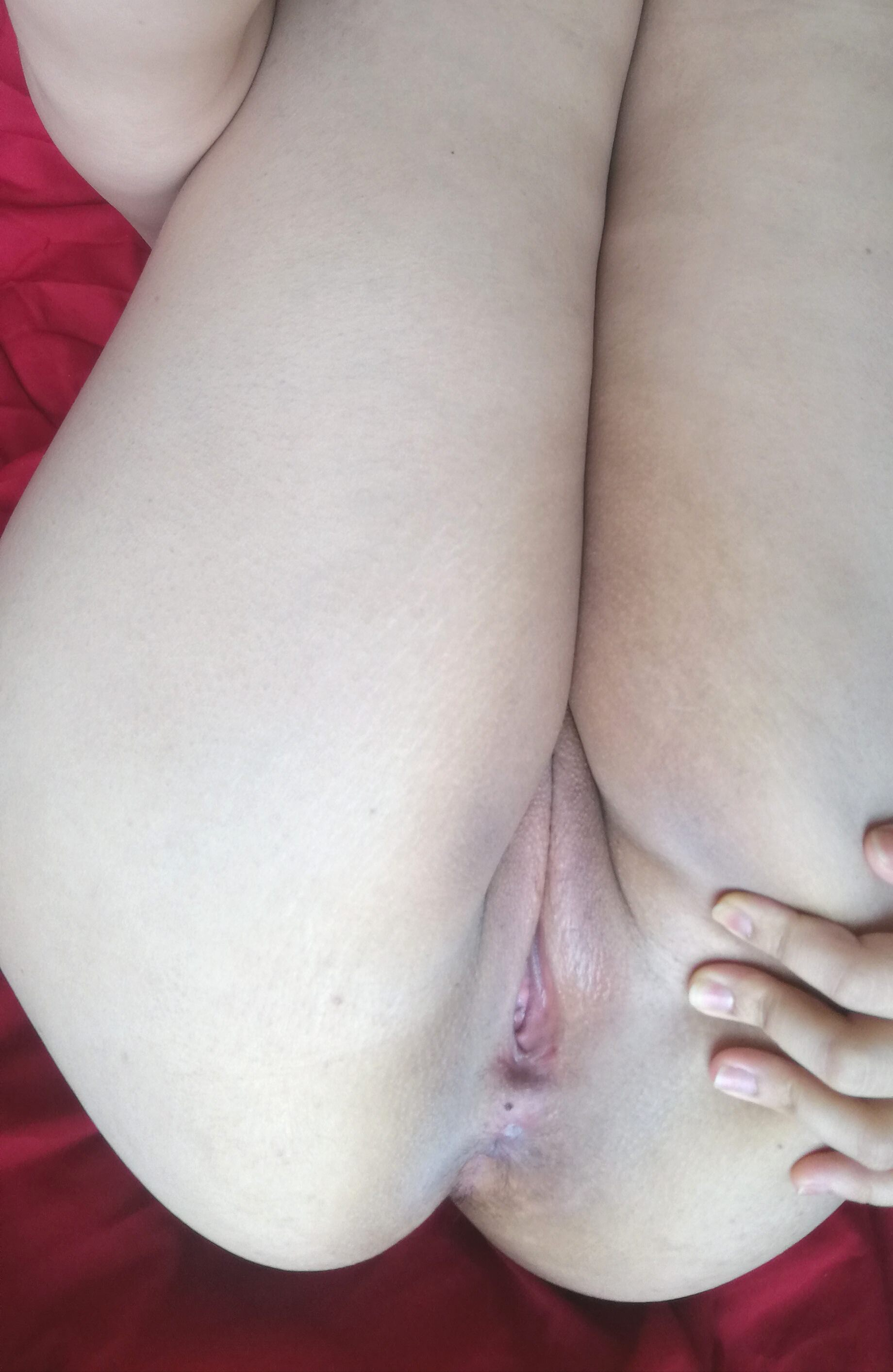 Butt hole shaved