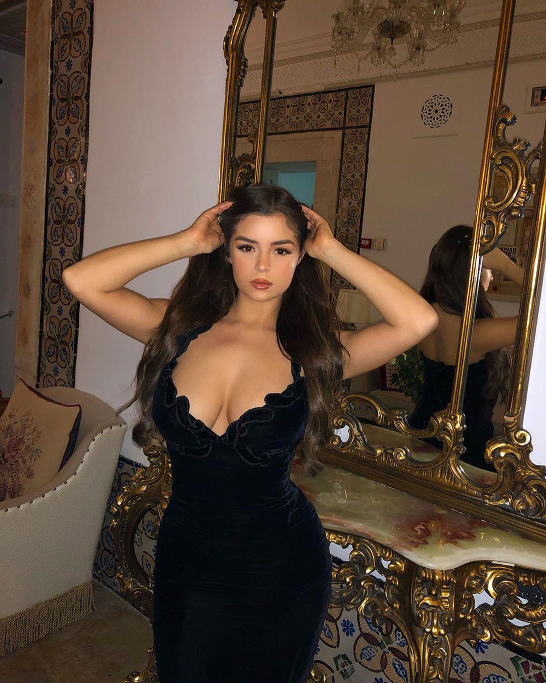 Porno Pictures Evening Dress