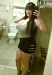amateur photo Curvy Babe Selfie