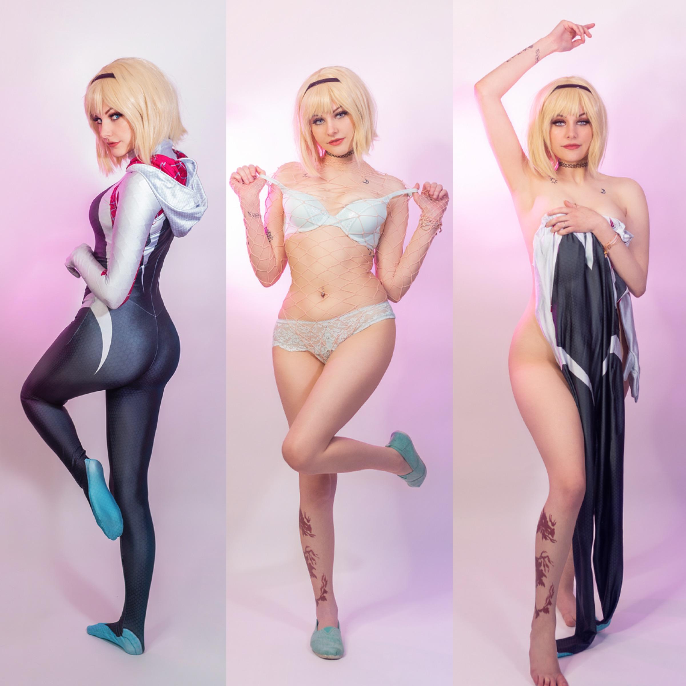 Porn gwen stacy Gwen Stacy