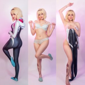 amateur photo [Self] Gwen Stacy/SpiderGwen - On/Off by Ri Care