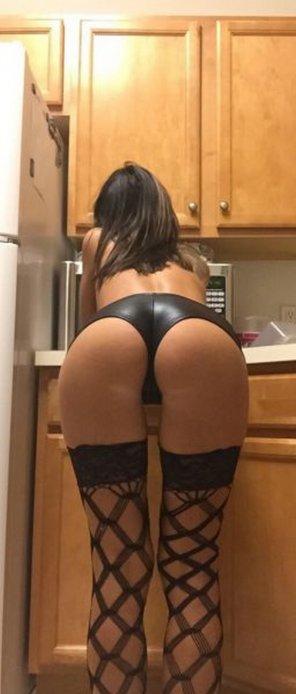 amateur photo Kitchen counter