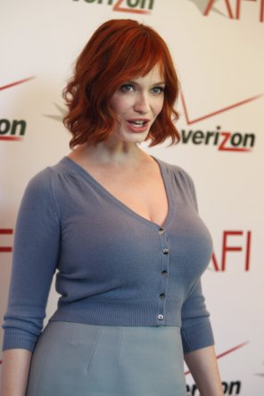 amateur photo Christina Hendricks