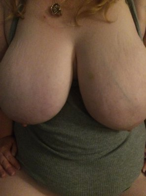 amateur photo IMAGE[Image] One of Hubby's favorites. I love the way my tits look in this shot.