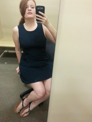 amateur photo Just a dressing room selfie.