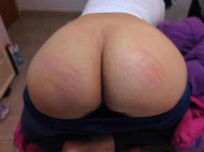 amateur photo Got spanked
