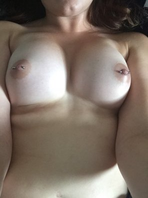 amateur photo IMAGEPierced nipples [image]