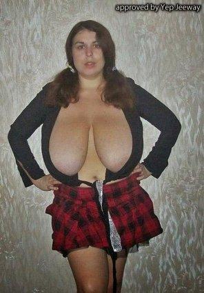 amateur photo Weird boobs