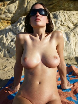 amateur photo Wet at the beach