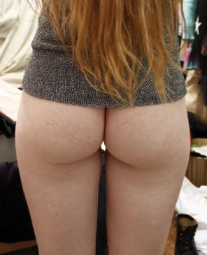 amateur photo Ginger's beautiful bum.