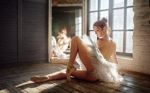 amateur photo Ballerina body
