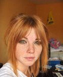 amateur photo Perfect combo : ginger hair, green eyes and freckles