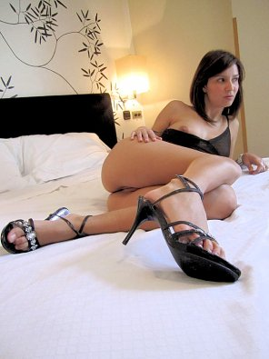 amateur photo My glamour girl in slut heels