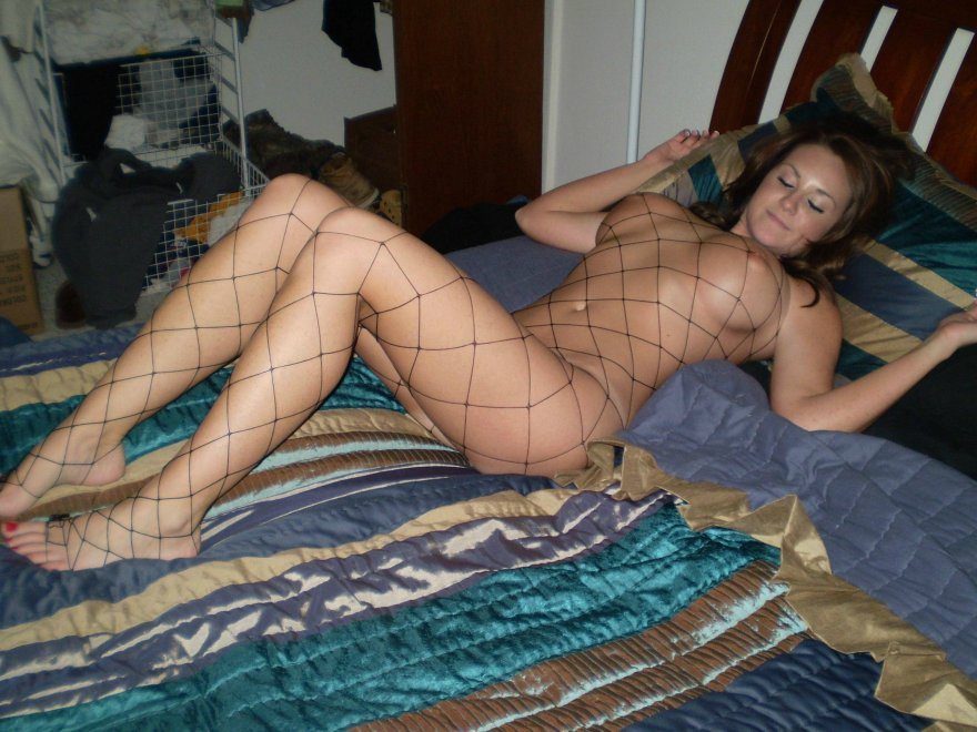 Netted Porn Photo