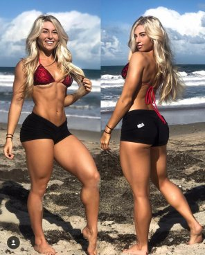 amateur photo Carriejune Bowlby is 🔥 from all angles