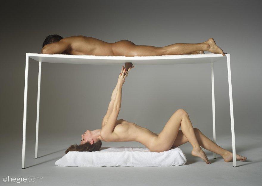 Massage Table Porn Photo