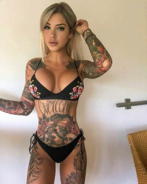 amateur photo Tattoos with a side order of boobs?