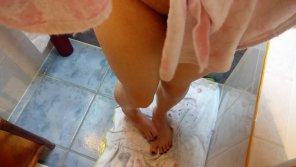 amateur photo Bath time's over 😇🖤