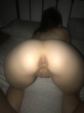 amateur photo Bent over pussy