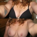 amateur photo Lovely Wife's Cans!