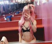 Strip Club selfie