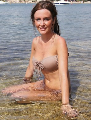 amateur photo Cutie in the water