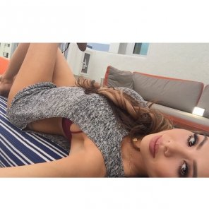amateur photo Laying down